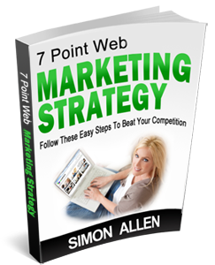 7 Point Web Marketing Strategy